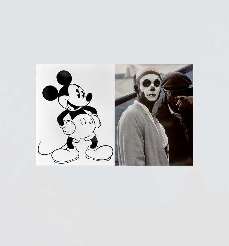 """Mickey Mouse Was a Scorpio"" (2016) d'Arthur Jafa. C-Print. Courtesy of the artist and Gavin Brown's enterprise, New York/Rome"