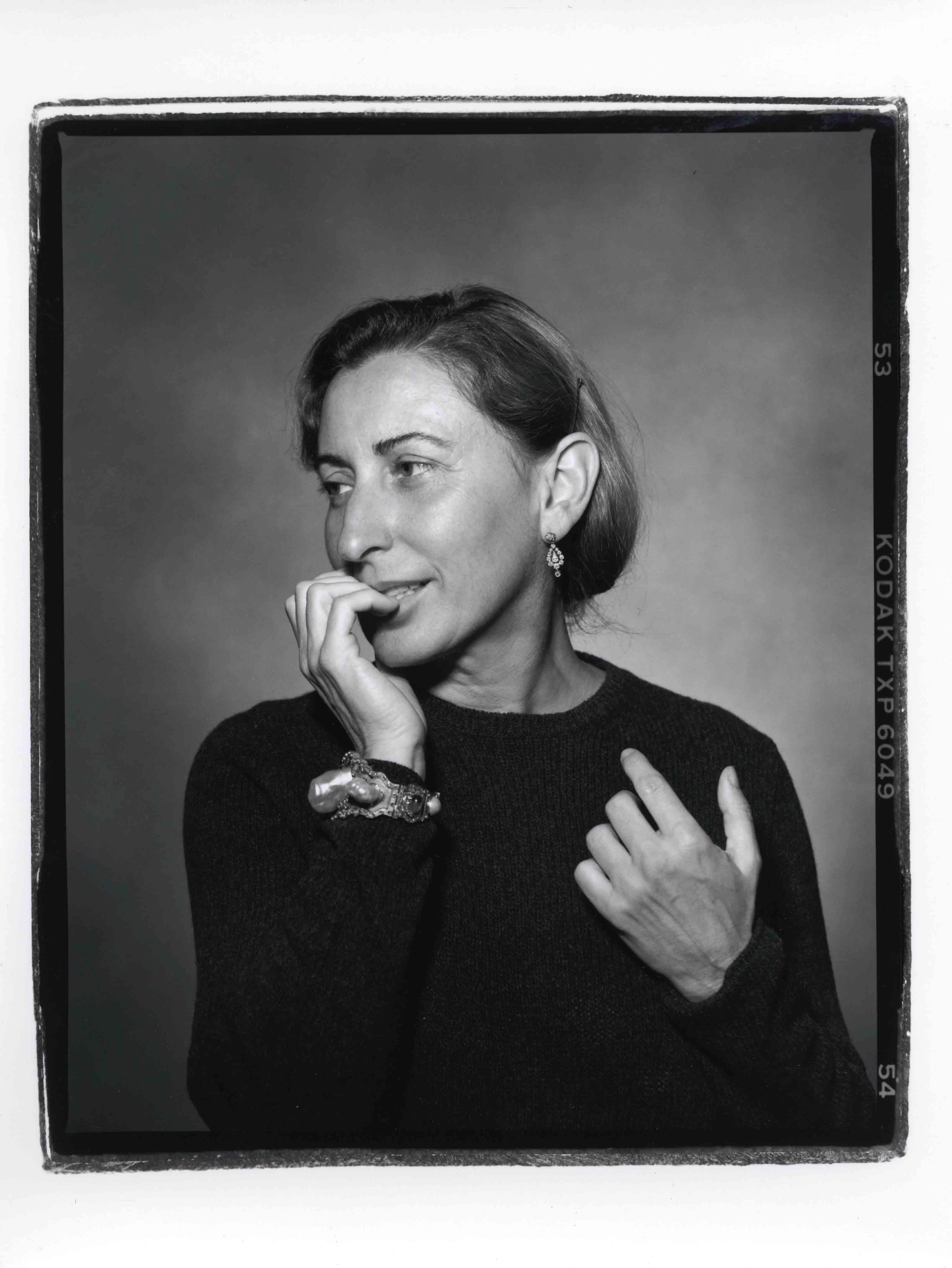 5b2ed8a297e Exclusive interview of Miuccia Prada for Numéro Art