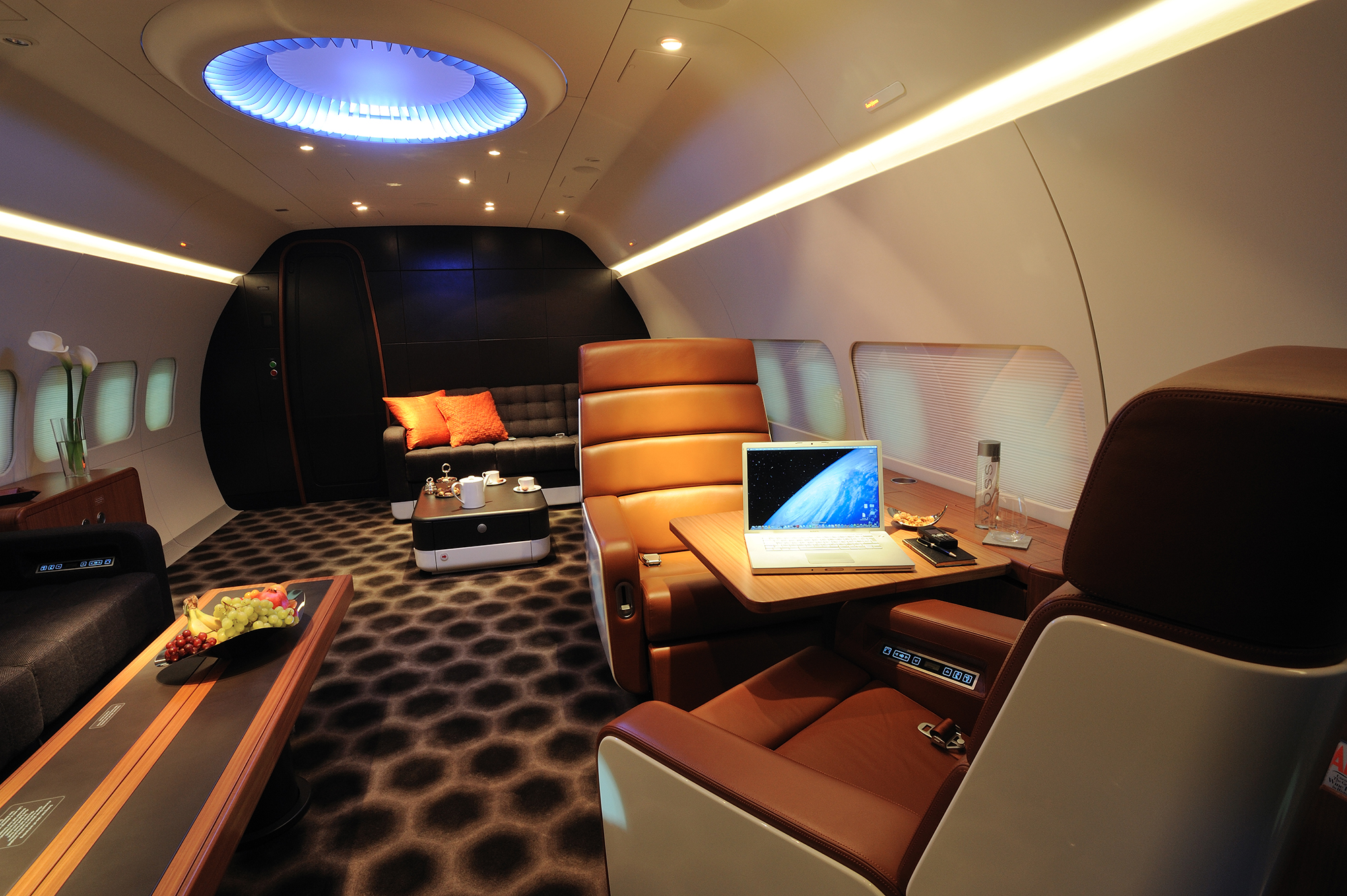 Réalisation de Marc Newson. Photographie : Andre Heeger, courtesy of Freestream Aircraft Limited.