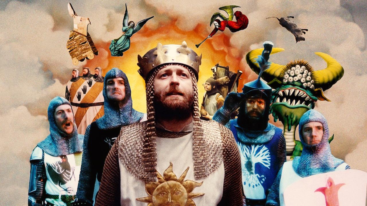 """""""Monty Python : Sacré Graal !"""" (1975) de Terry Jones et Terry Gilliam"""