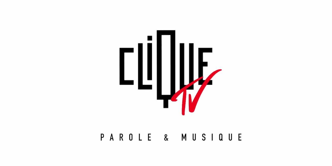 Le logo de la nouvelle chaîne Clique TV.