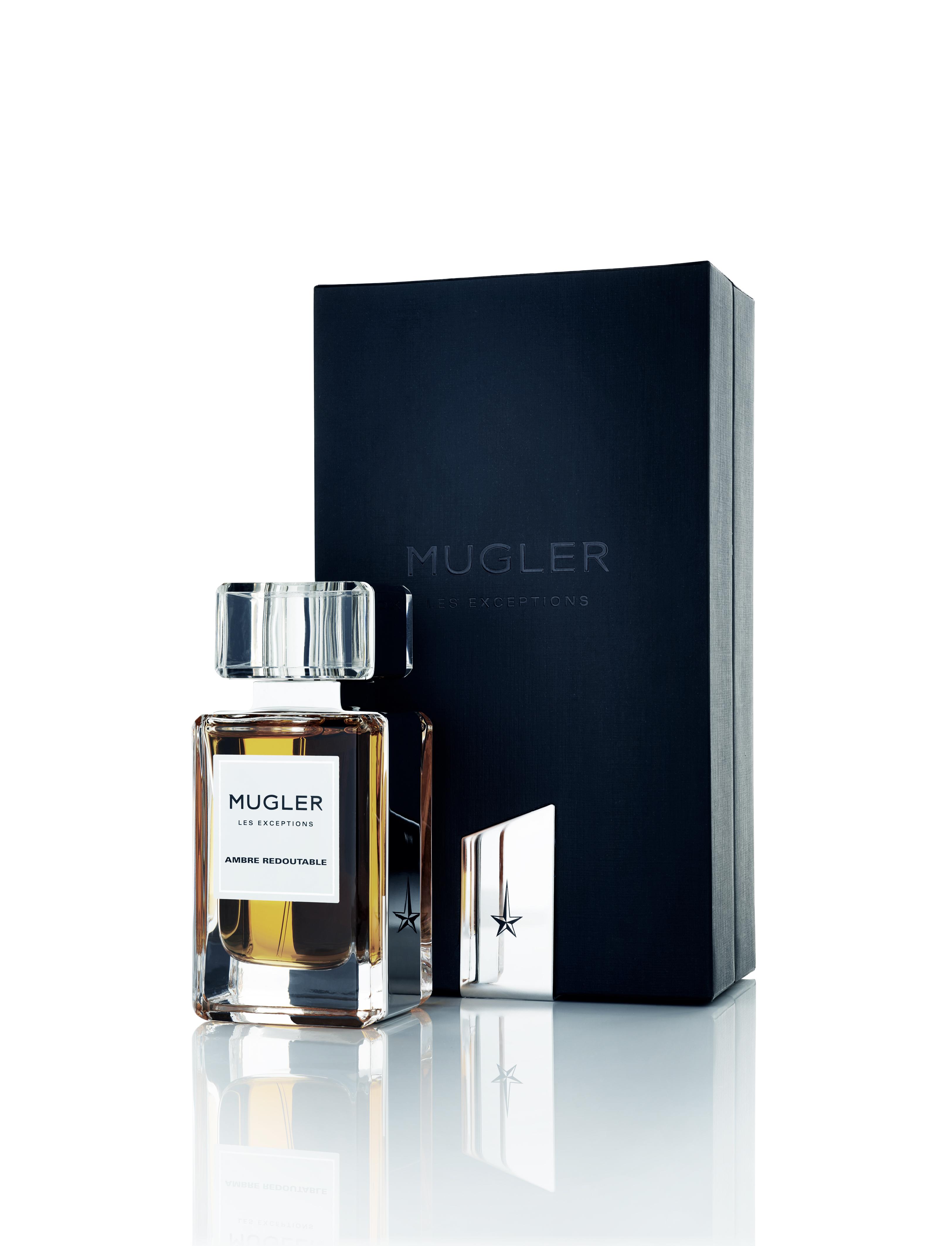 """""""Ambre Redoutable"""", eau de parfum, collection Les Exceptions, MUGLER."""