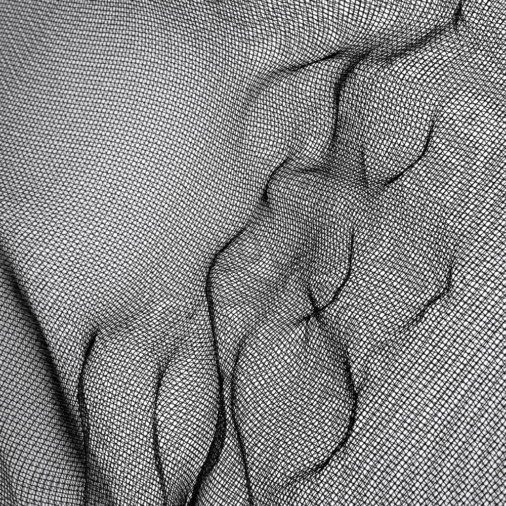 """""""Net 013"""" (2012). Impression sur aluminium."""