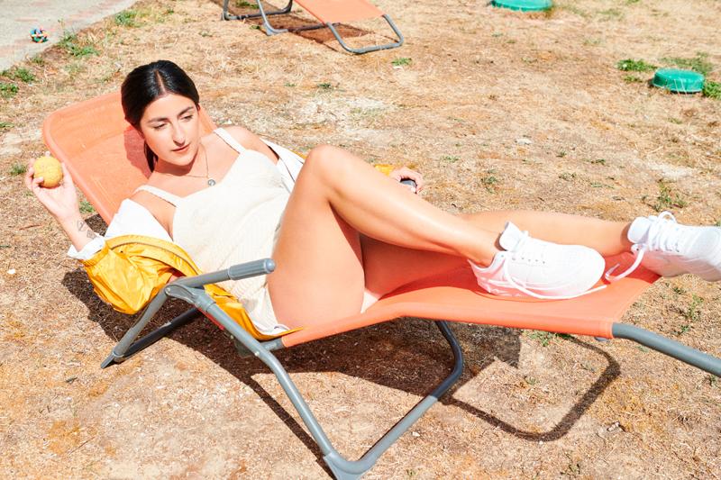 Nili Hadida photographiée par Nicolas Prado.