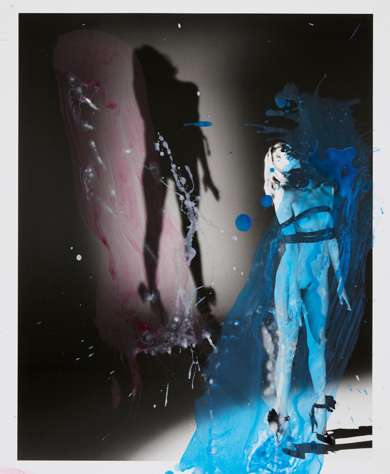 Escarpins, SAINT LAURENT PAR ANTHONY VACCARELLO. Nobuyoshi Araki/Courtesy of Saint Laurent and Taka Ishii Gallery.