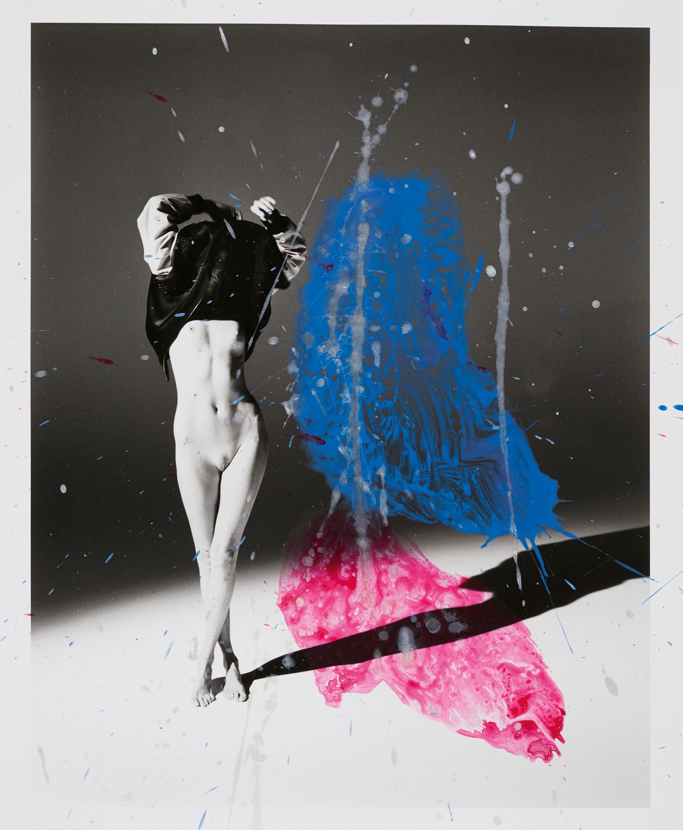 Blouson, SAINT LAURENT PAR ANTHONY VACCARELLO. Nobuyoshi Araki/Courtesy of Saint Laurent and Taka Ishii Gallery.