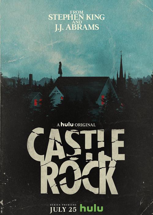 """L'affiche de la série """"Castle Rock""""."""