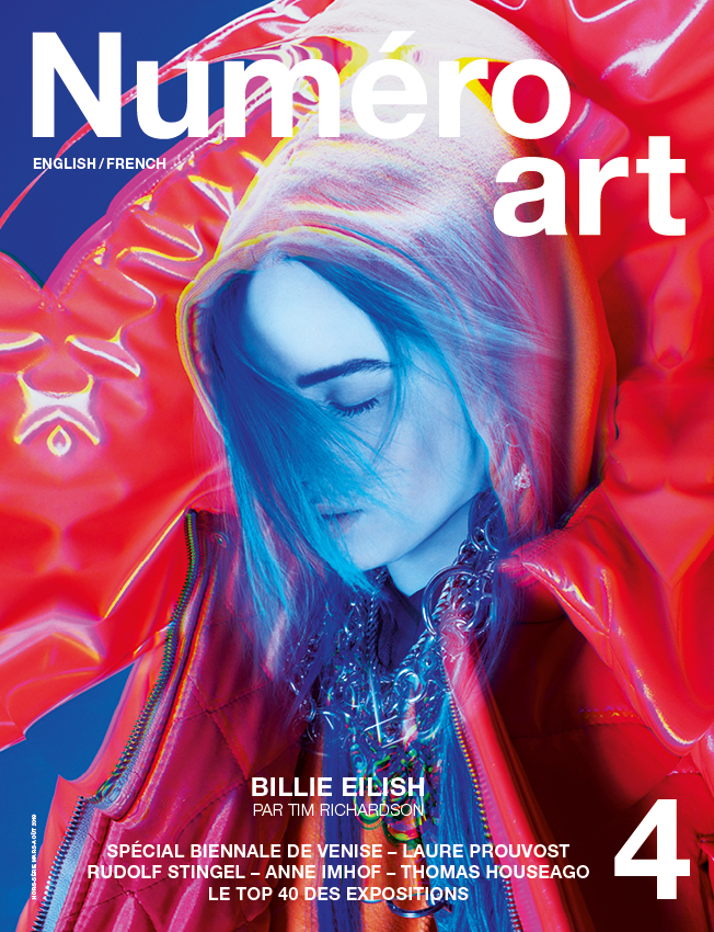 Billie Eilish photographiée par Tim Richardson. Creative direction : Amir Zia.