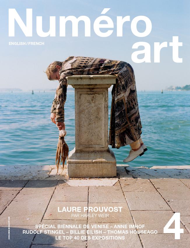 L'artiste Laure Prouvost photographiée par Harley Weir.