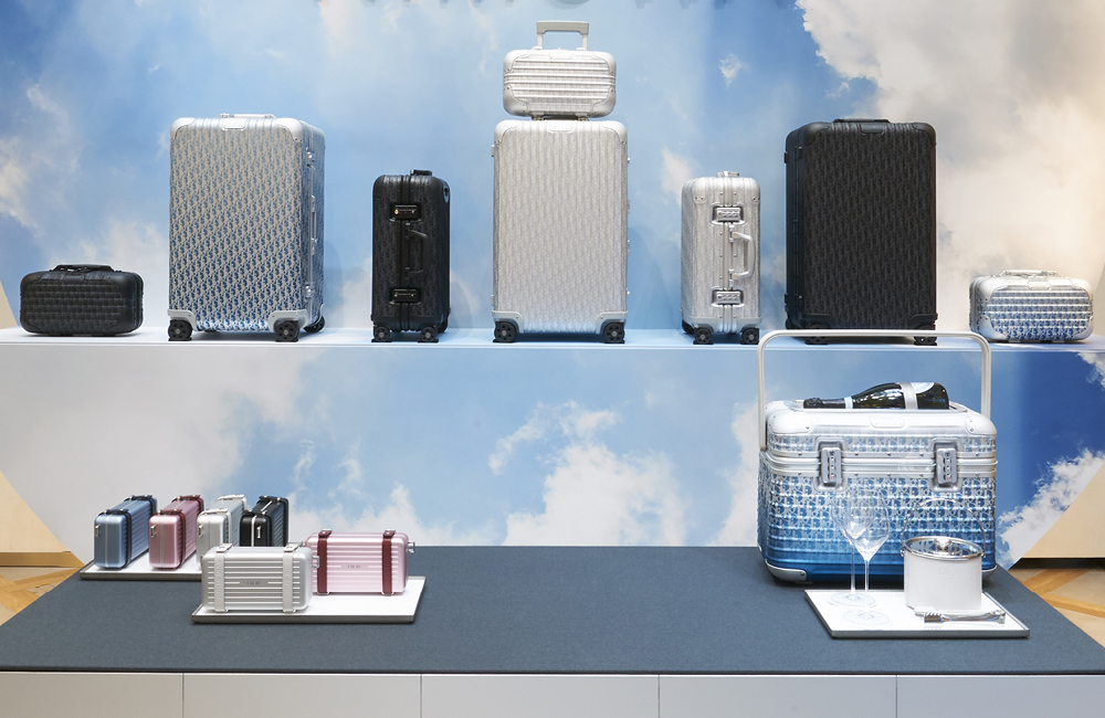 La collection Dior x Rimowa © Adrien Dirand