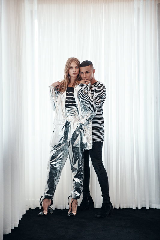 Coming Kids Olivier.Interview With Olivier Rousteing