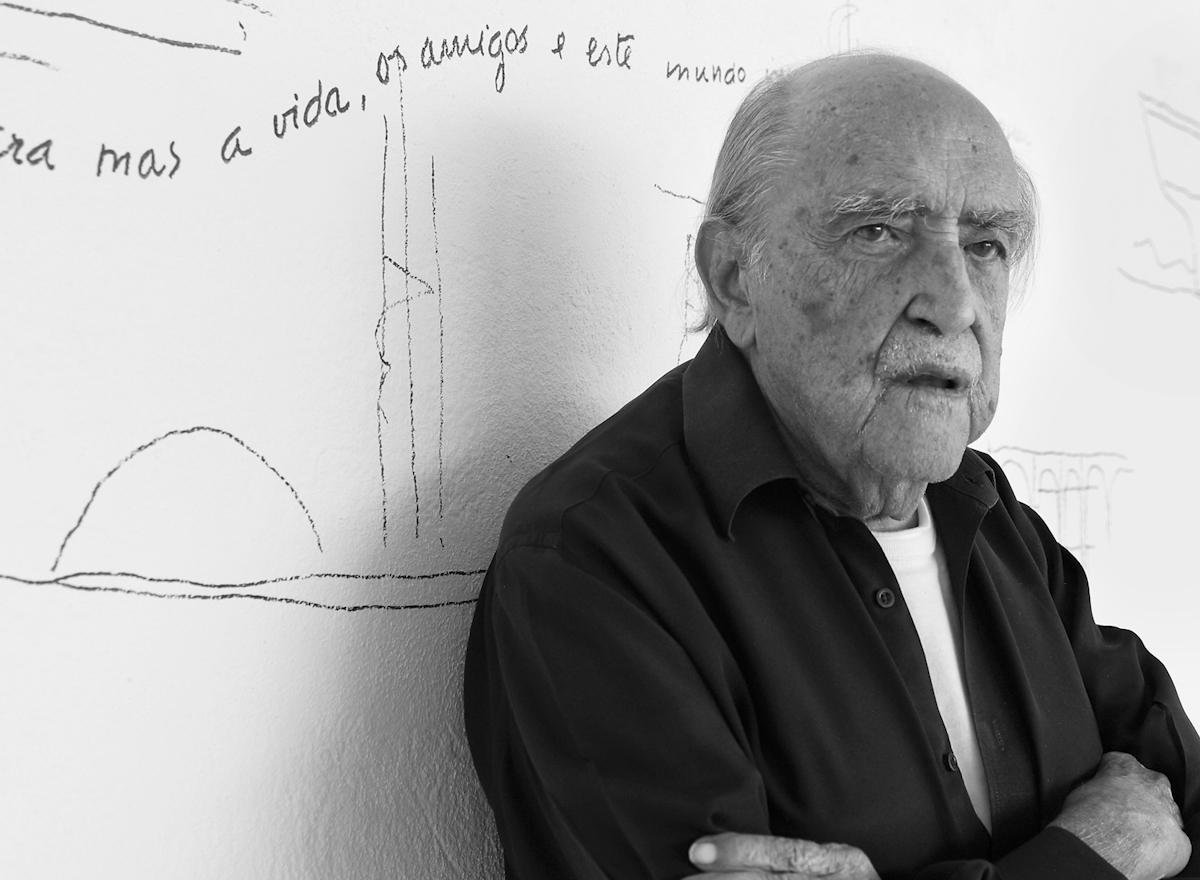 Portrait d'Oscar Niemeyer