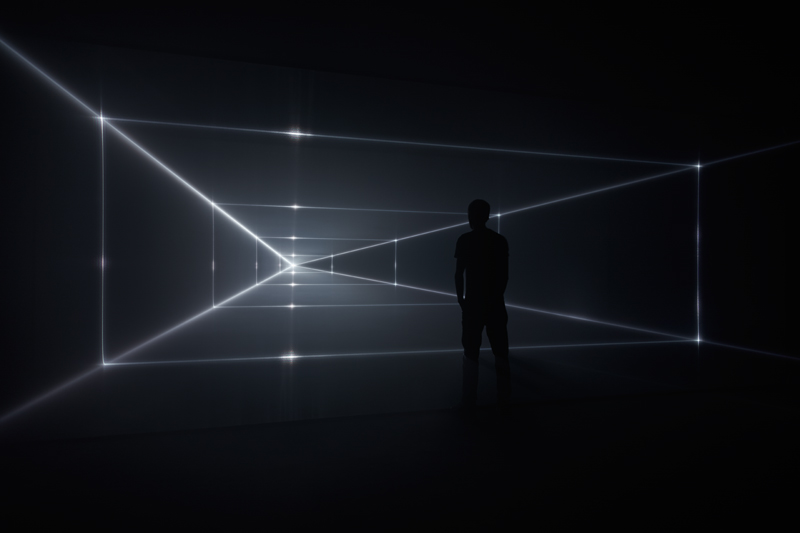 "United Visual Artists, ""Vanishing Point"" (2019). Photo : Jack Hems."