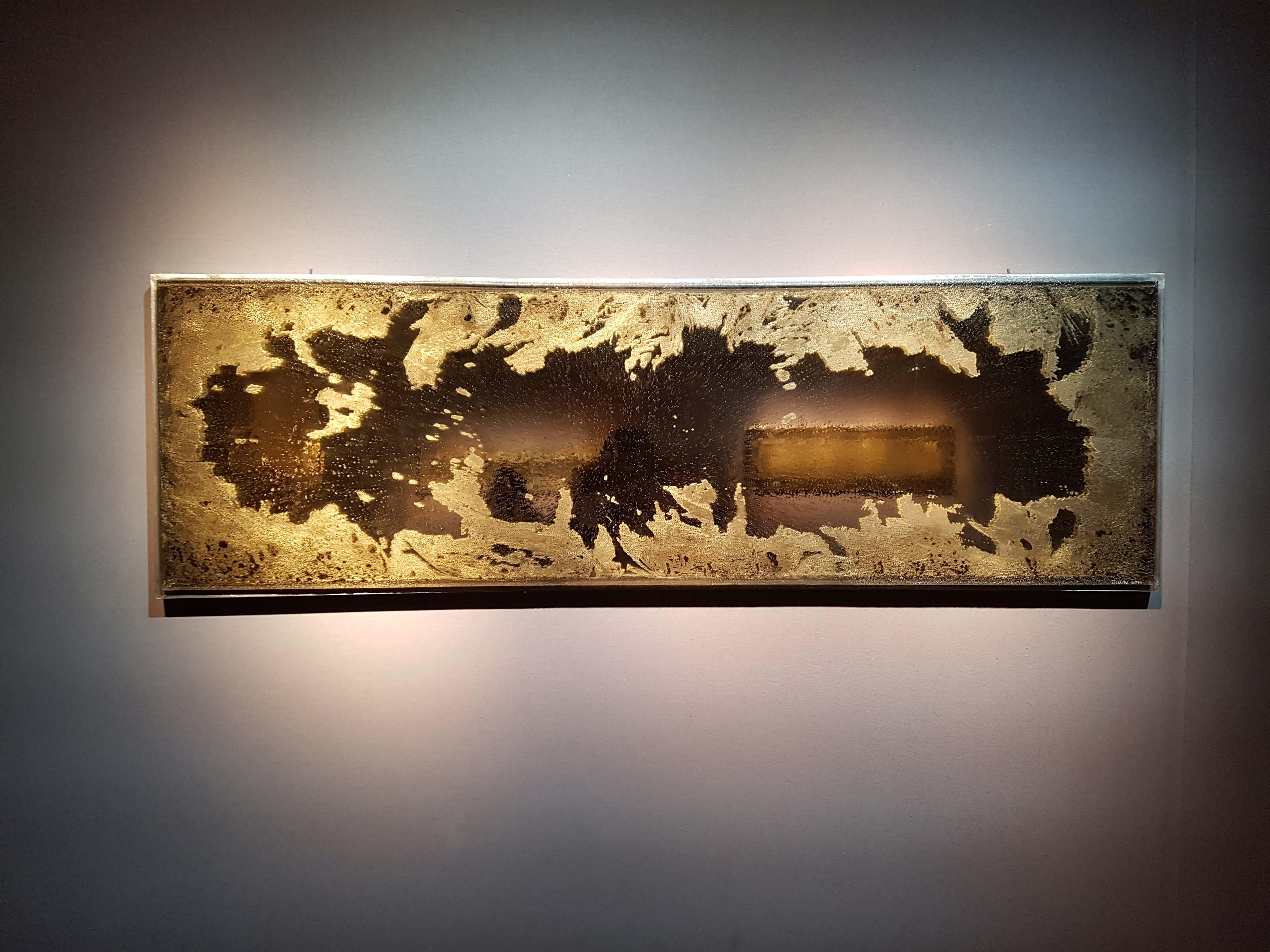 Une œuvre de Josef Divin présentée au PAD Paris 2018 par la galerie Clara Scremini.