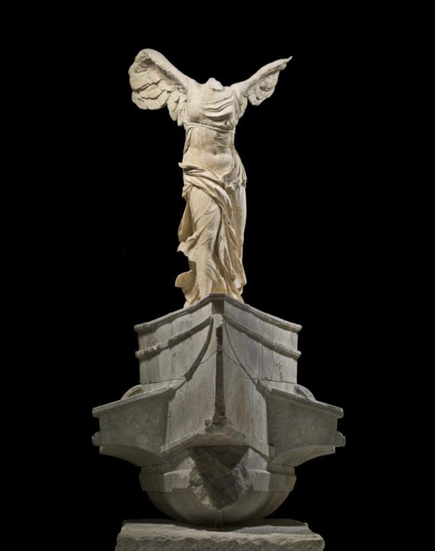"""""""La Victoire de Samothrace"""", IIe siècle avant J.-C. © 2015 RMN-Grand Palais (musée du Louvre) / Touchard Urtado Querrec"""