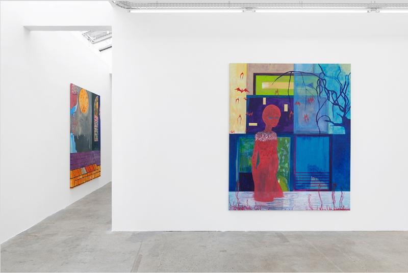 """Renaud Jerez, """"Accélération"""" à la galerie Crèvecœur (2019). Photo : Aurélien Mole"""