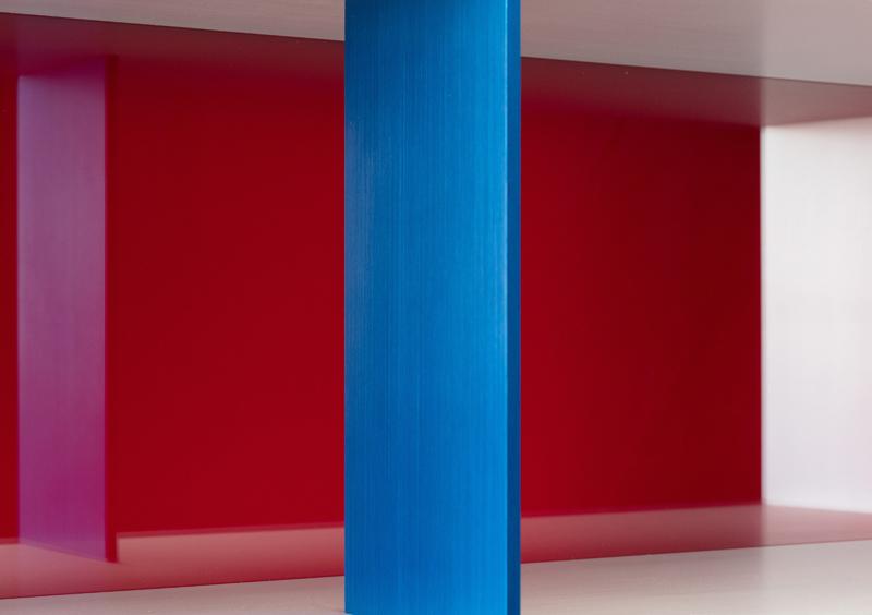 Donald Judd à la galerie Thaddaeus Ropac.