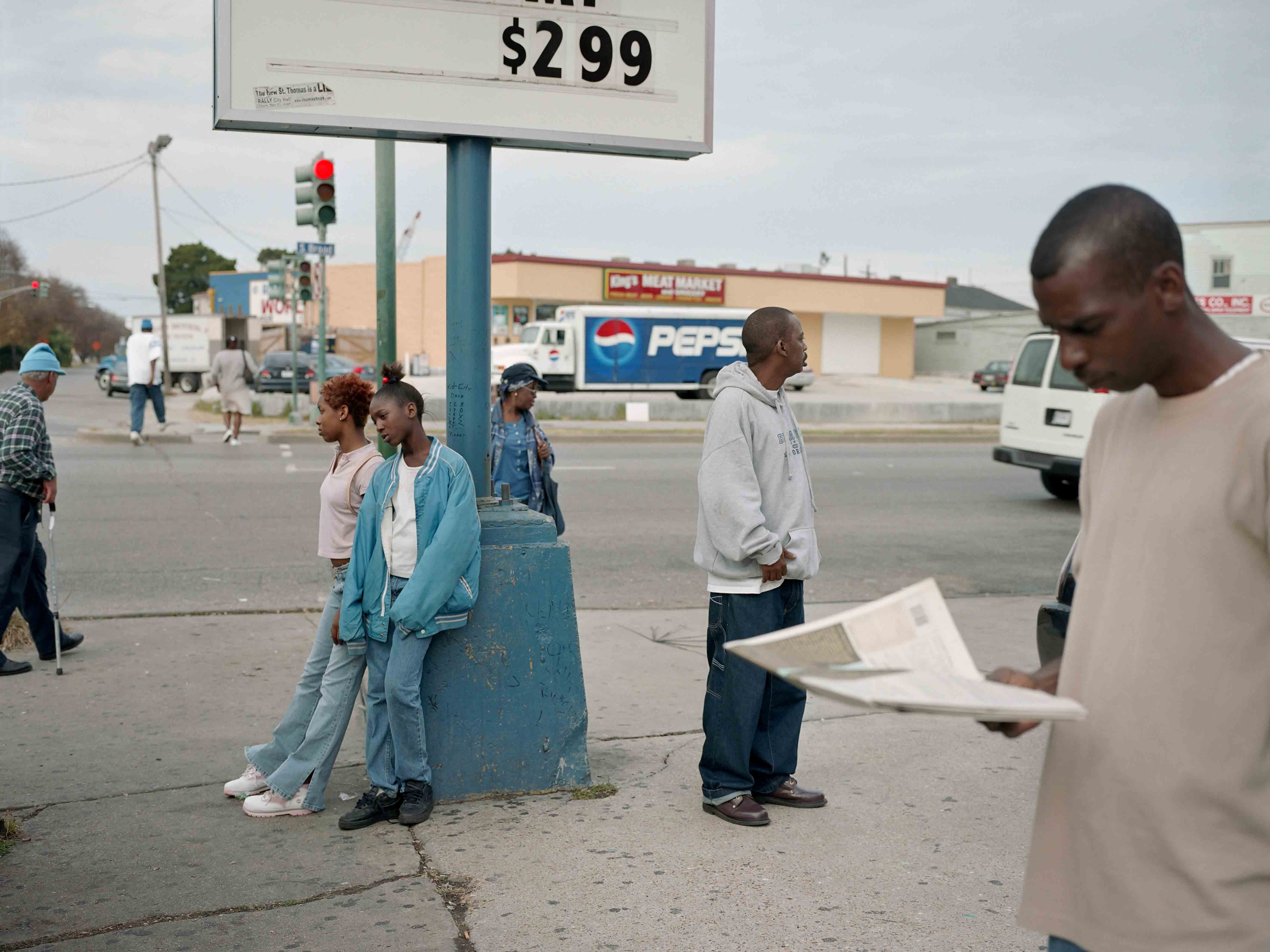 """Paul Graham, """"New Orleans"""", série """"a shimmer of possibility"""", 2003-2006. Avec l'aimable autorisation de Pace/MacGill Gallery, New York ; Carlier 