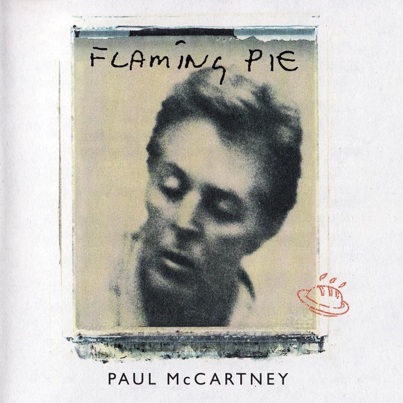 """La pochette de """"Flaming Pie"""" par Linda McCartney."""