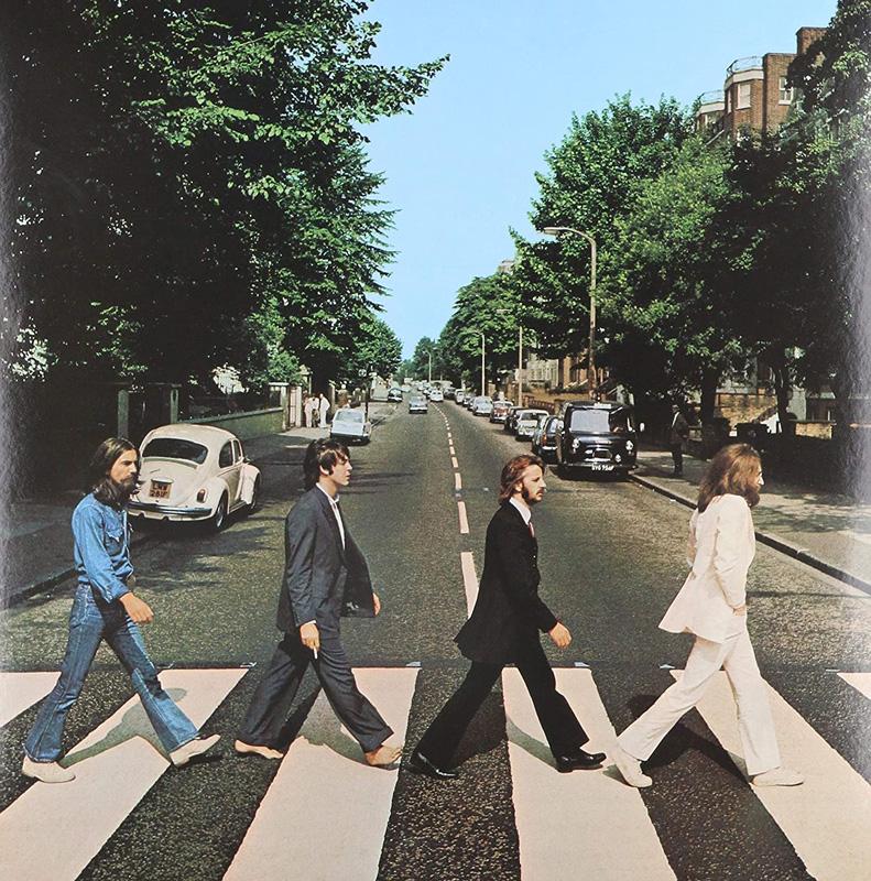 "La pochette de ""Abbey Road"" par Iain McMillan."