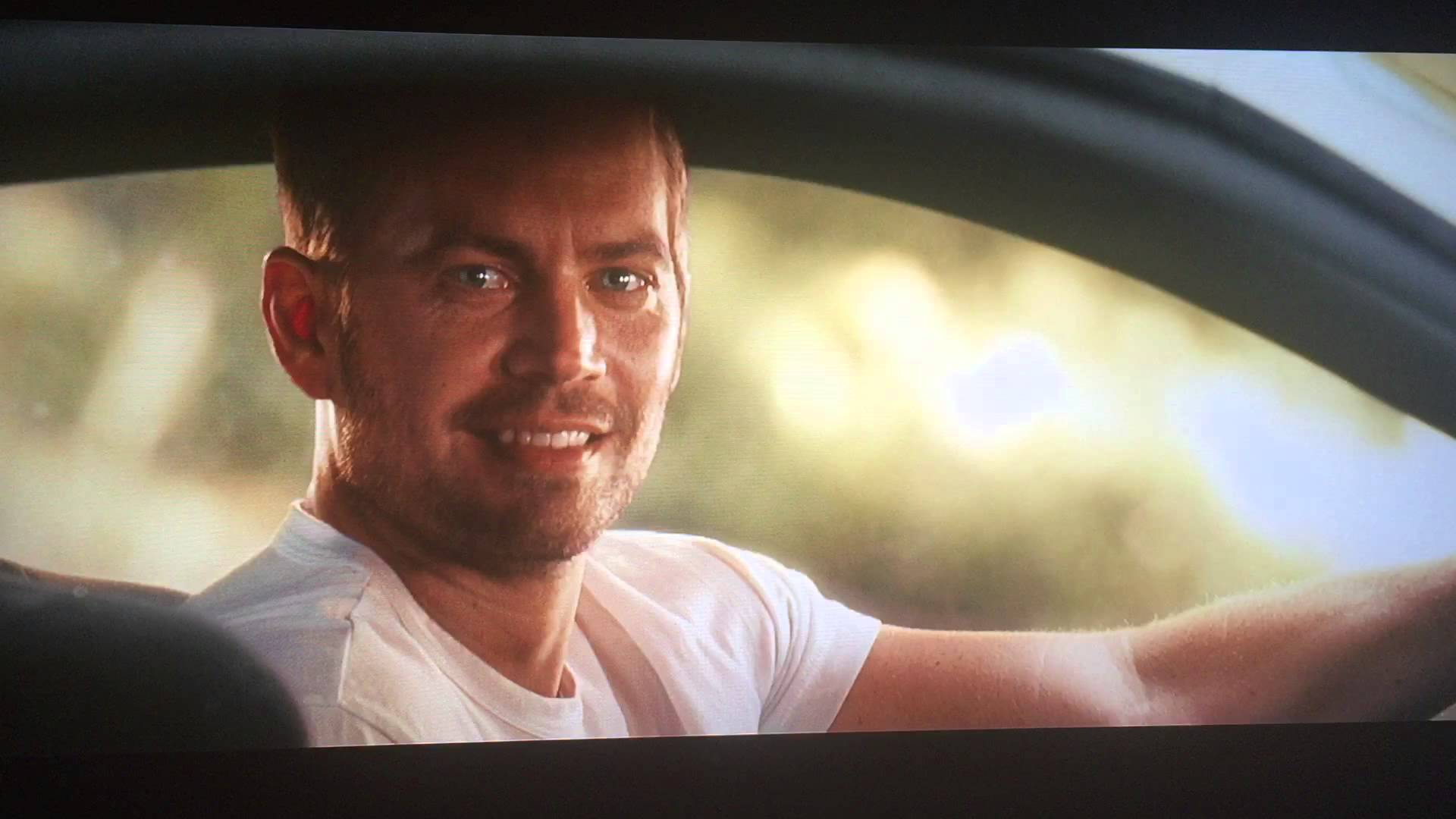 "L'acteur Paul Walker dans le film ""Fast and Furious 7"""