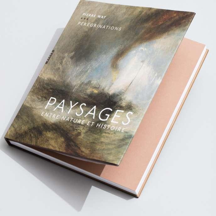 """Couverture du livre """"Pérégrinations"""" de Pierre Wat."""
