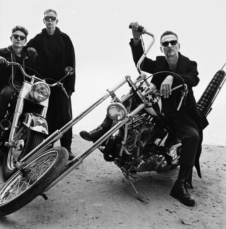 Depeche Mode. @Anton Corbijn