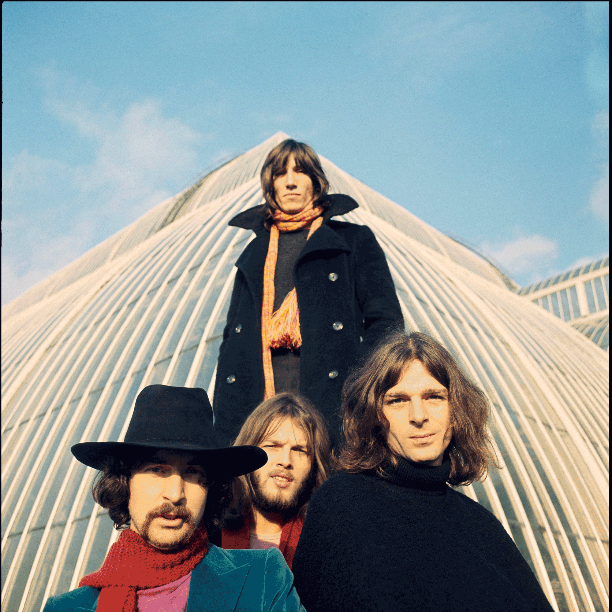 "Courtesy of ""The Pink Floyd Exhibition : Their Mortal Remains"""