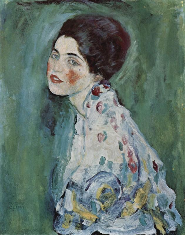 """Portrait d'une Dame"" (1916-1917), Gustav Klimt"