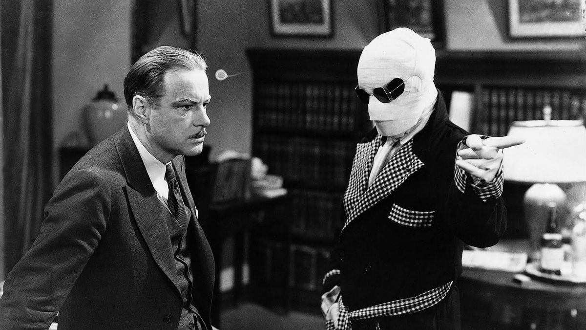 """L'Homme Invisible"" de James Whale (1933)"