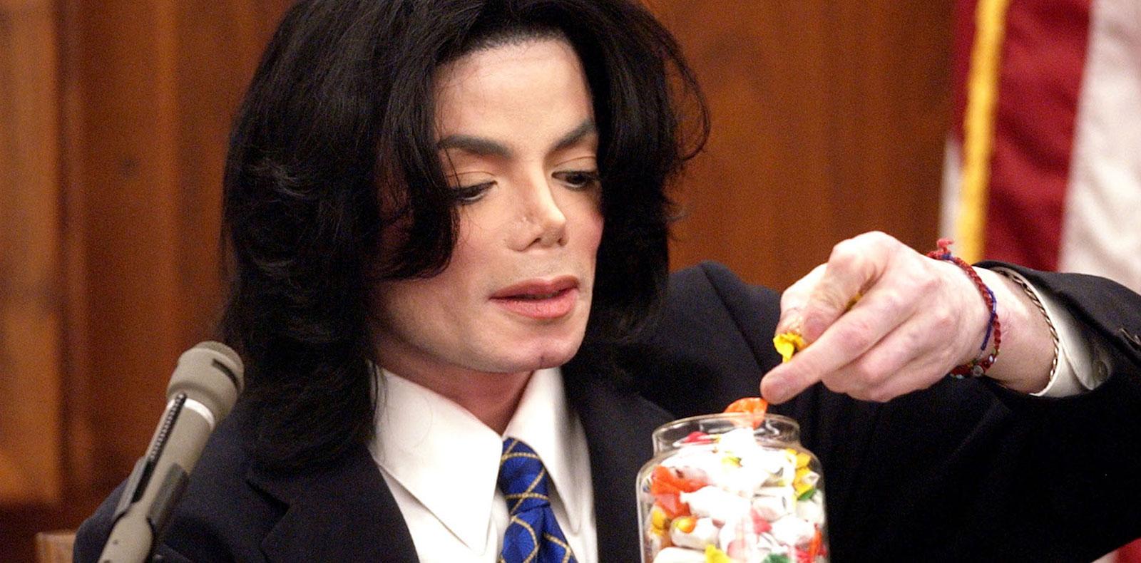 Michael Jackson's trial [2005].