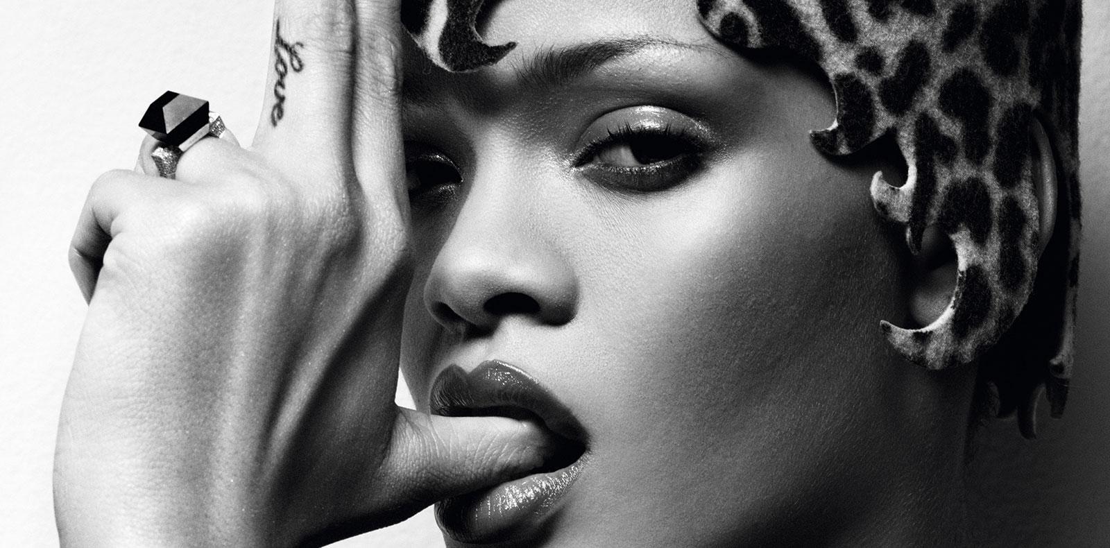 Rihanna photographiée par Craig McDean.