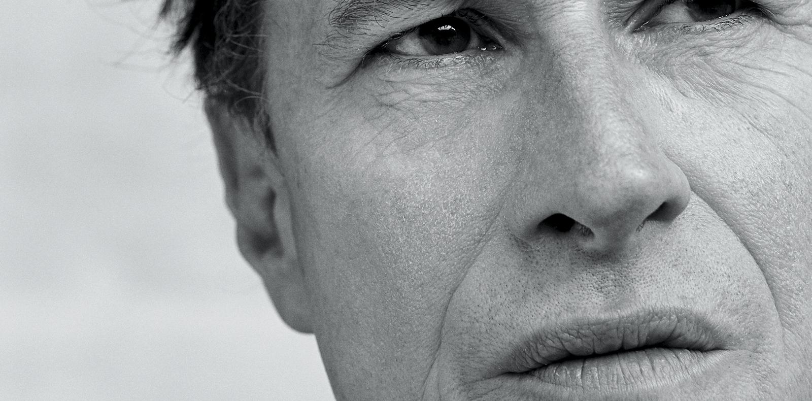 Bertrand Bonello photographié par Rachelle Simoneau.