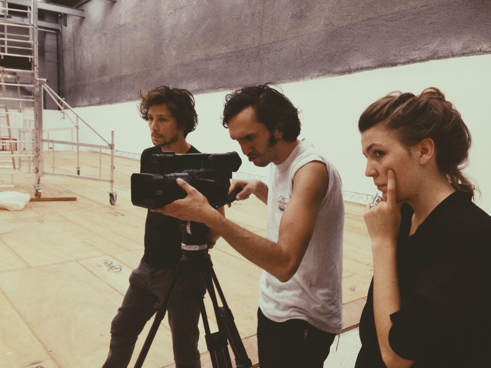 Répétitions d'Adieu Bohème avec Jeanne Frenkel et Cosme Castro © OnP Les Films Pelléas