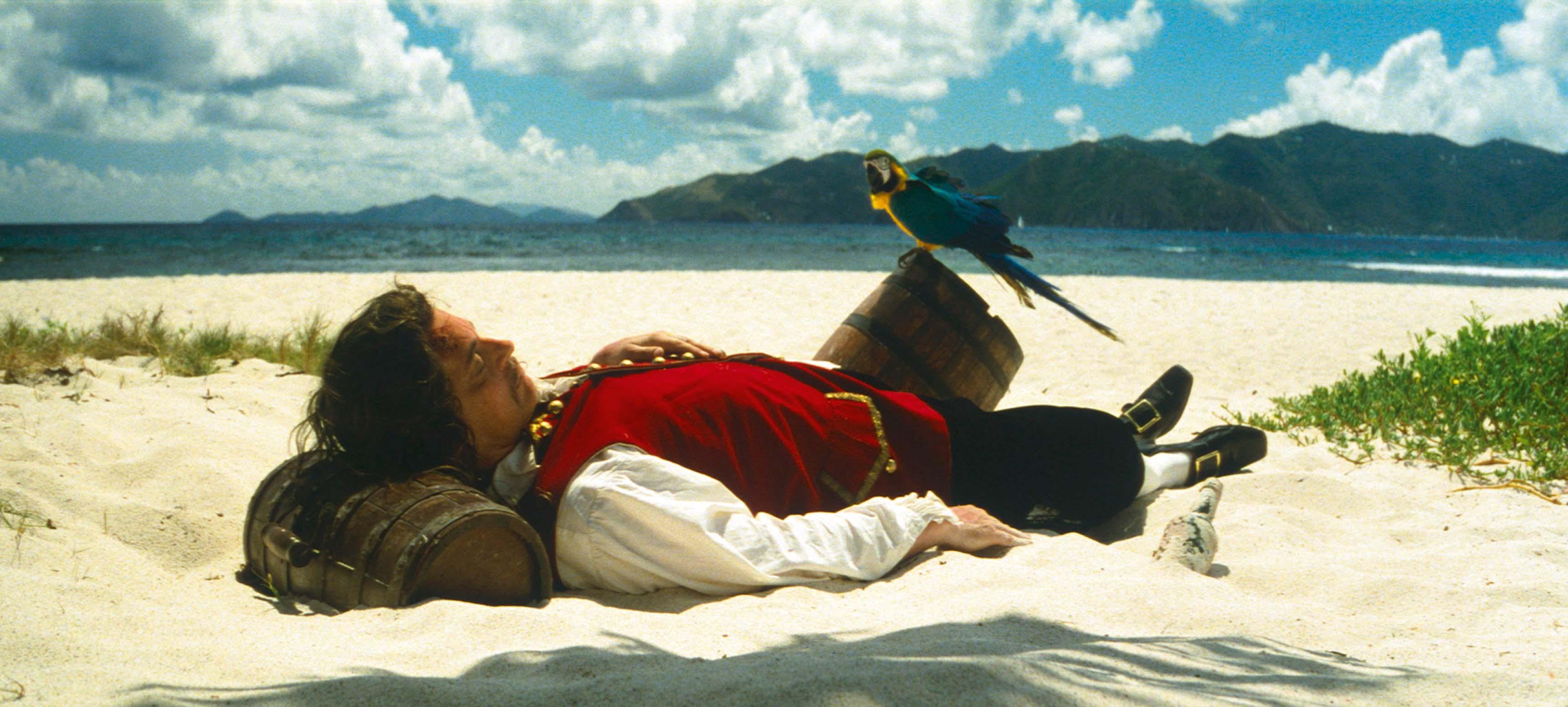 Vexation Island, film de 9 minutes en boucle (DVD 1997), de Rodney Graham.