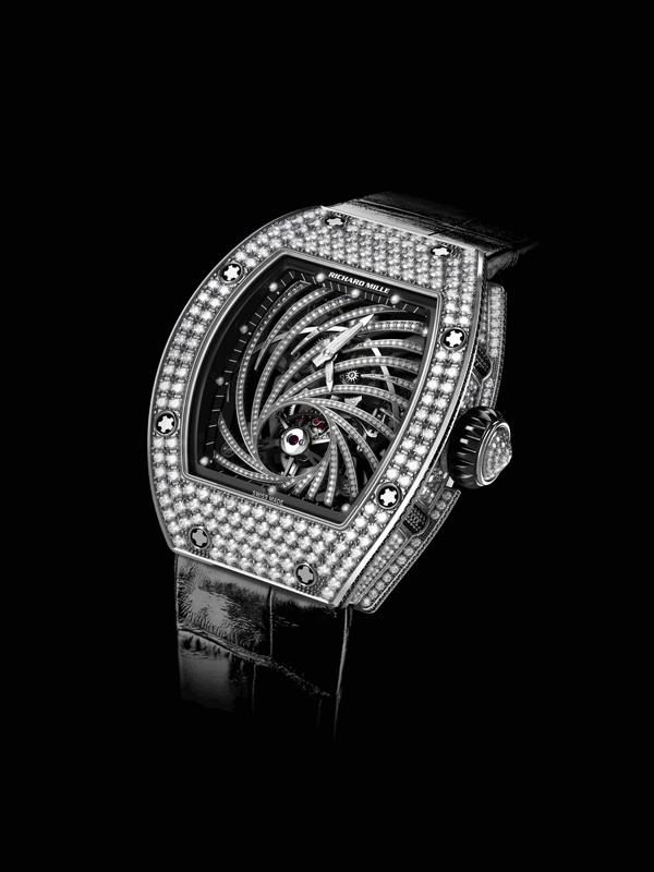 Richard Mille, Tourbillon RM 51-02 Diamant Twister.