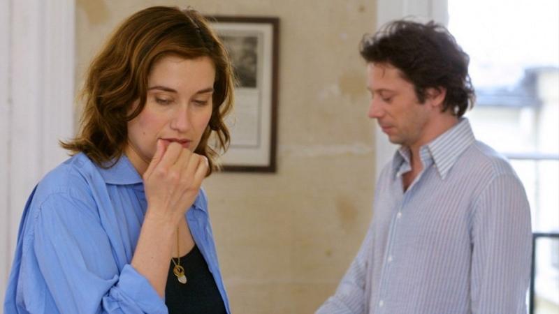 """Emmanuelle Devos et Mathieu Amalric dans """"Rois et Reine"""" d'Arnaud Desplechin."""