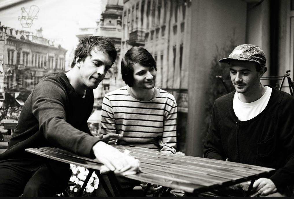 Rhadoo, Raresh et Petre Inspirescu du label Arpiar