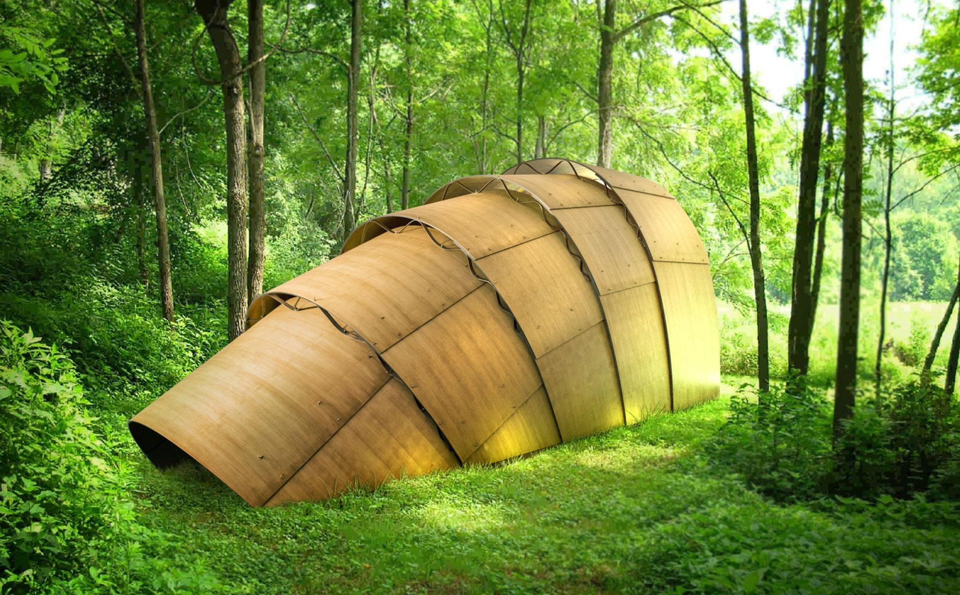 Armadillo Tea Canopy - Ron Arad