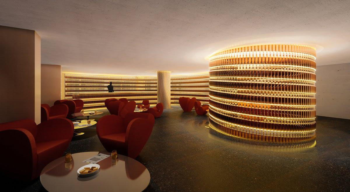 The Next Whisky Bar, Watergate Hotel - Ron Arad