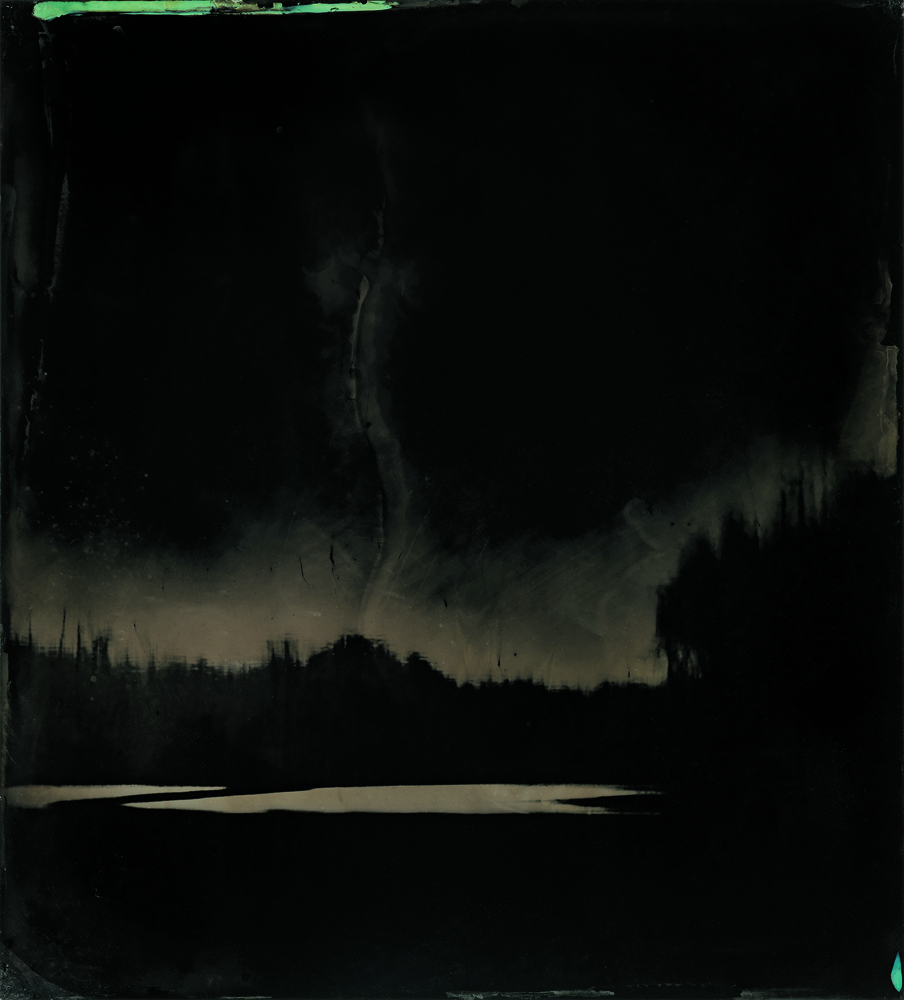 """BLACKWATER 9"" (2008-2012). FERROTYPE."