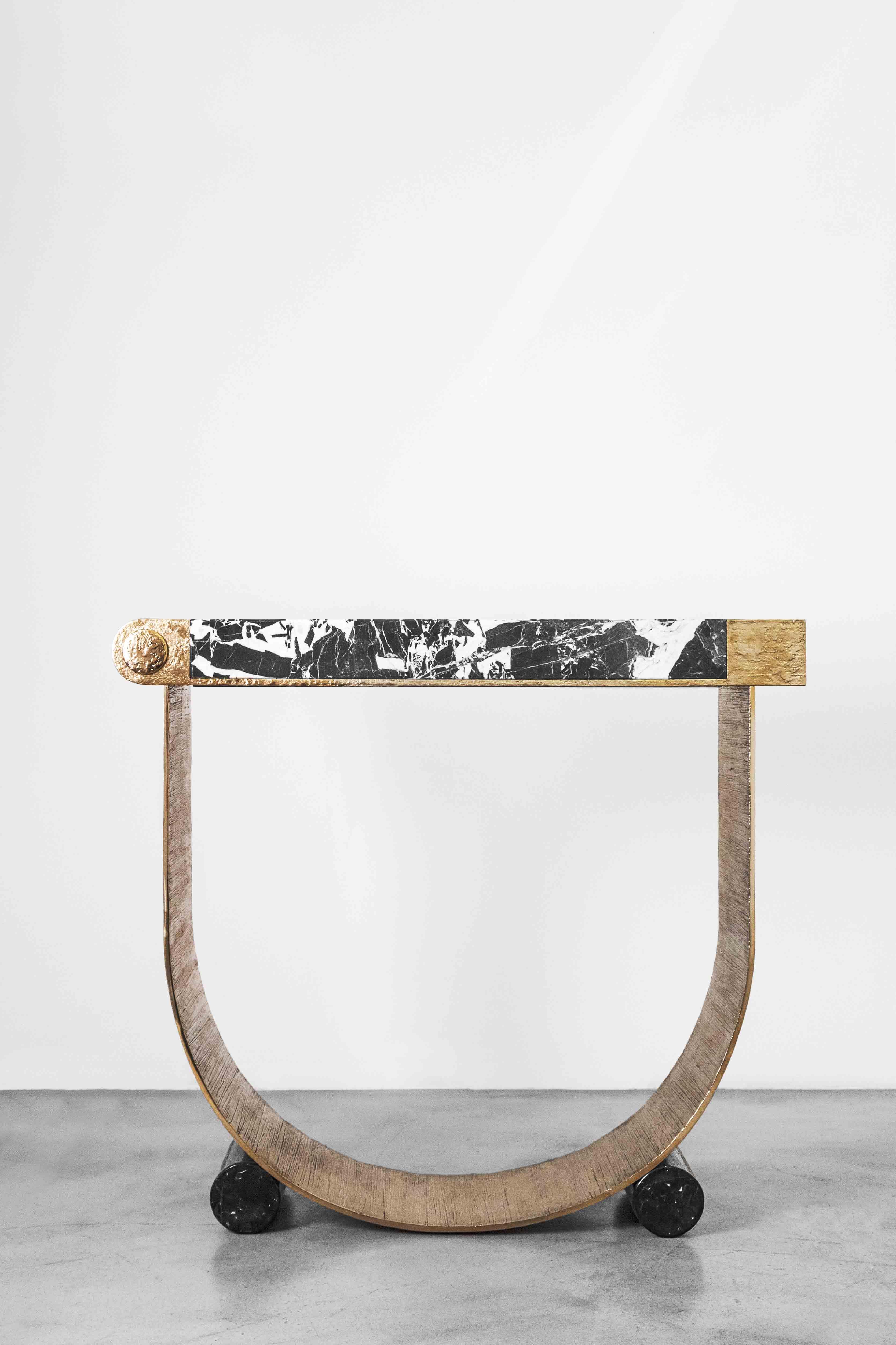"""Galerie Achille Salvagni, console """"Diomede"""""""