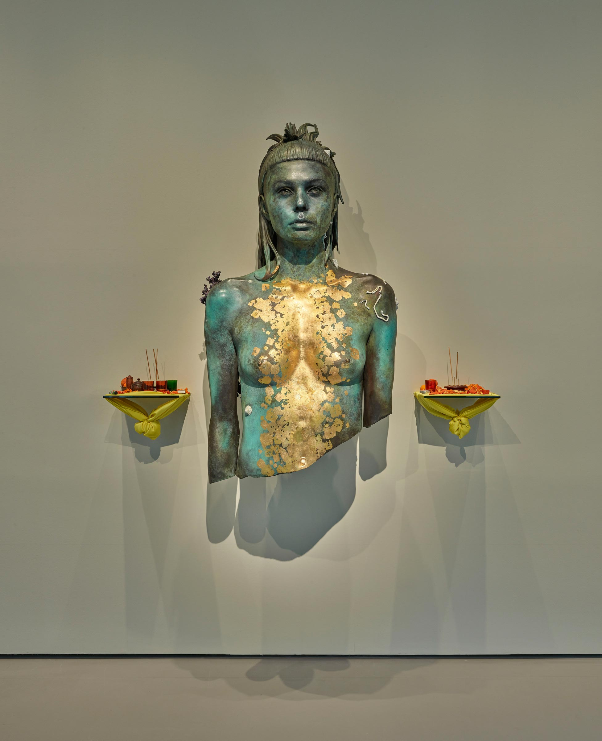 Room 11: Damien Hirst, Aspect of Katie Ishtar ¥o-landi. Photographed by Prudence Cuming Associates © Damien Hirst and Science Ltd. All rights reserved, DACS/SIAE 2017