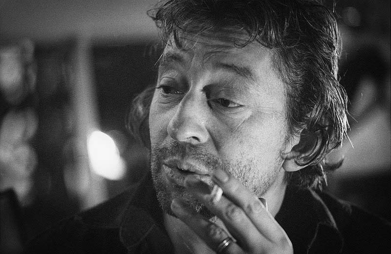 Serge Gainsbourg en 1981 © Claude Truong-Ngoc.