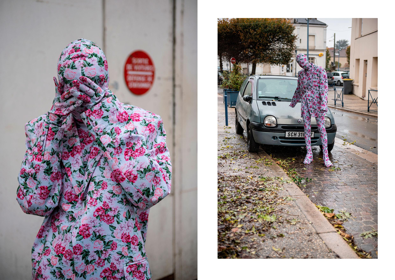 Cagoule, veste, top, pantalon, gants et sur chaussures en Lycra, ANTIDOTE CARE.