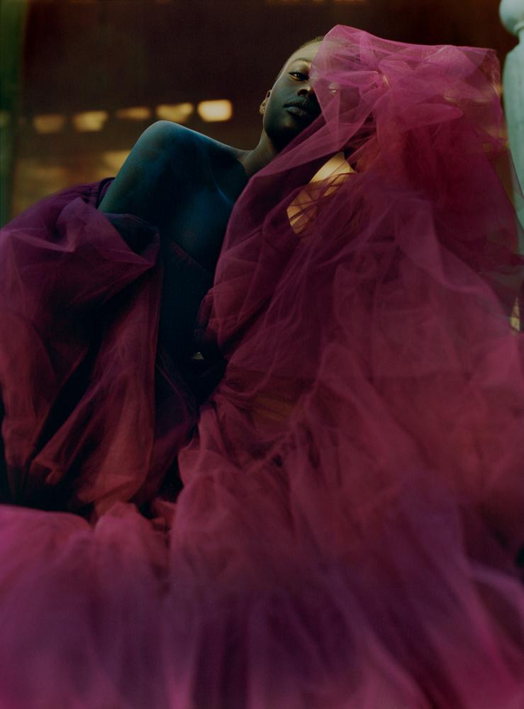 Tulle dress, VALENTINO.