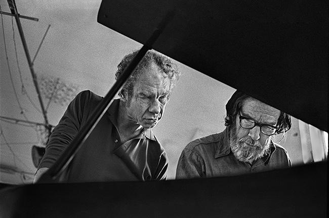 Merce Cunningham et John Cage © Festival d'Automne à Paris