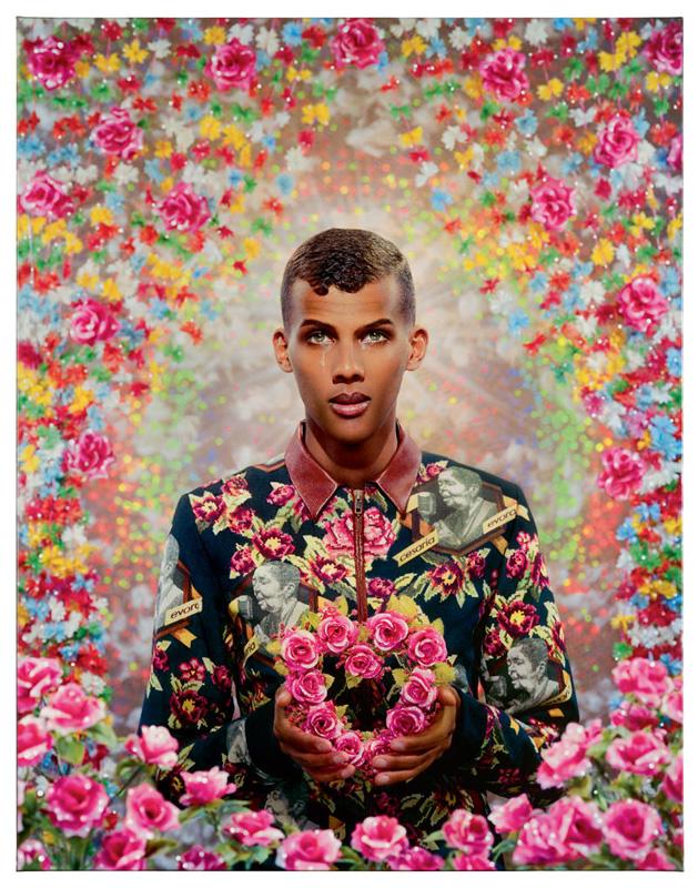 Stromae par Pierre et Gilles.