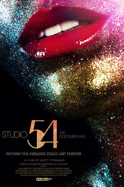 "Affiche du documentaire ""Studio 54"" de Matt Tyrnauer."