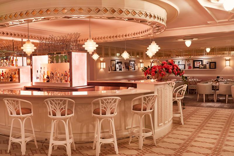 "Le restaurant ""Swan"" à Miami."